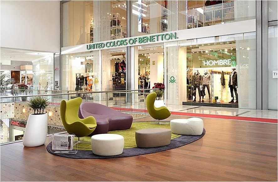 Mobiliario comercial dise o de interiores para - Muebles para centros comerciales ...